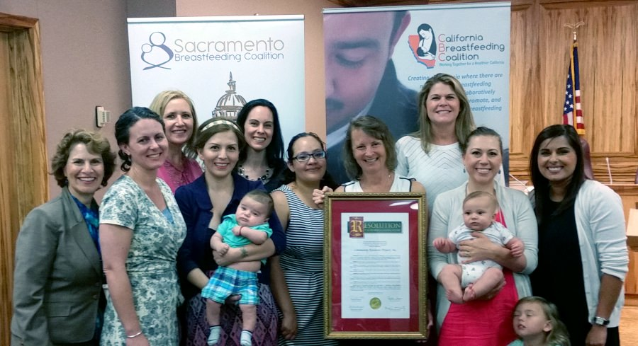 CRP was among the 2017 Award Recipient from the Sacramento Breastfeeding Coalition in May 2017